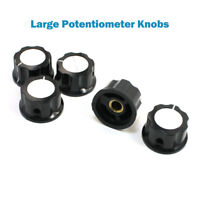 Boutons de Potentiomètre / Cadran d'amplificateur de Volume pour axe lisse 6mm