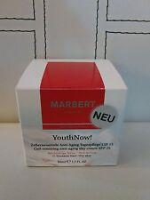 (89,98€/100ml)   Marbert Youth Now Anti Aging Tagescreme trockene Haut 50ml neu