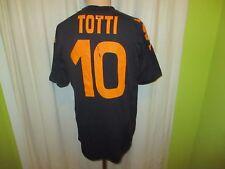 """As ROMA KAPPA ORIGINALE MAGLIA spartitraffico 2007/08 """"vento"""" + N. 10 Totti taglia L-XL"""