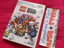 LEGO ROCK BAND ★ NINTENDO Wii ★ VERSIONE PAL