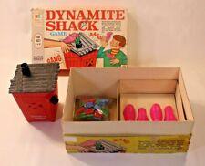 VTG Dynamite Shack Board Game Milton Bradley 4985 Complete 1968 Family HTF Rare