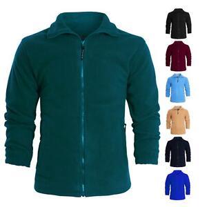 kraftd Unisex Micro Soft Fleece Anti Pill Polo Winter Leisure Outdoor Jacket