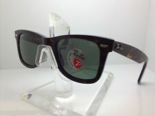 RAYBAN RB 2140 902/58 TORTOISE/GREEN POLARIZED RB2140  RAY BAN SUNGLASSES 50MM