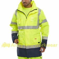 Hip Length Parkas Collared Regular Coats & Jackets for Men