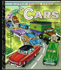 Cars: A Little Golden Book No. 149 Good Intact Condition