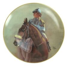 John Henry Chris McCarron Up American Artists Limited Edition Collector Plate