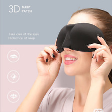 1 Pack Travel 3D Eye Mask Sleep Soft Padded Shade Cover Rest Relax Blindfold