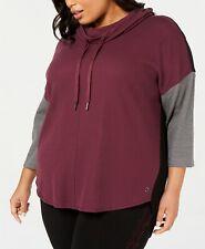 Calvin Klein Performance Plus Size Colorblocked Top $69 Size 3X # 6C 1480 NEW