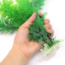 Artificial Grass Aquarium Ornament Water-Plant Plastic Large For Fish Tank Decor