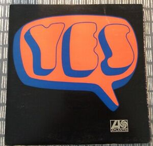 YES Album  1969 Atlantic 588190 1st press? With insert. Reasonable condtion