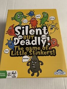 SILENT BUT DEADLY! THE GAME OF LITTLE STINKERS Family Card Game NIP 2-6 Players