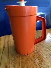 Tupperware vintage Orange Pitcher #874-14
