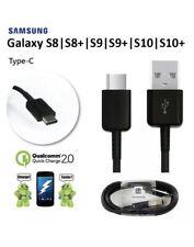X2 Genuino Samsung Galaxy S8/S9+ Plus Cargador Sincronización C TIPO C USB cable de carga