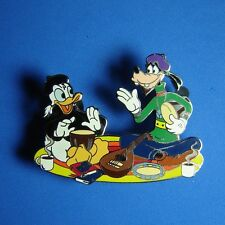 Donald Duck and Goofy Beatniks Fifties Collection Disney Auctions Pin LE 100