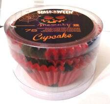 75 PZ PIROTTINI CUPCAKE FESTA DI HALLOWEEN party DOLCETTO DA FORNO CAKE DESIGN