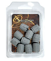 Scenery for 40K Rad Barrels sci-fi and Post Apocalyptic games