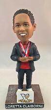 LORETTA CLAIBORNE SPECIAL OLYMPICS WORLD CHAMPION COMMEMORATIVE BOBBLEHEAD NEW!