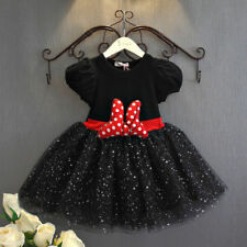 Minnie Mouse Party Winter Dresses (2-16 Years) for Girls
