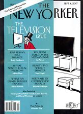 THE NEW YORKER September 4 2017 The Television Issue