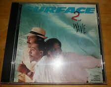 SURFACE  ---  2ND WAVE  ---   RARE INDIE R&B CD ALBUM