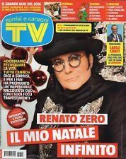 Sorrisi 2016 52.Renato Zero,Meryl Streep,Flavio Insinna,Pietro Valsecchi,Al Bano