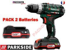 PARKSIDE® Perceuse-visseuse sans fil PABS 20-Li A1, 20V Pack 2 Batteries