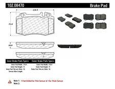 Parking Brake Shoe-C-TEK Rear Centric 110.08160