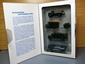 Roco Miniatur 1356 Feuerschutz Polizei Sonderauflage 1988 1:87 H0 RMM Herpa AVM