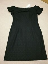 BNWT Black Body Contour Dress Size XL size 14