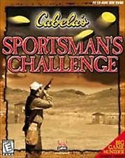 Cabela's Sportsman's Challenge Guns Hunting PC NEW and Sealed