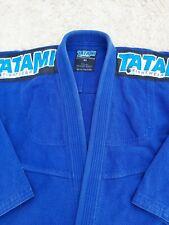 Tatami Size A2 Jiu Jitsu Uniform Navy Blue Top Shirt Kimono Gi BJJ Jiujitsu