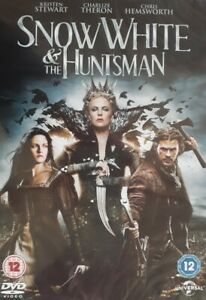Snow White And The Huntsman Region 2/4/5 DVD.2012 Universal.Charlize Theron.