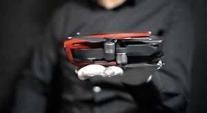 DJI Mavic Air 4K Drone Flame Red - 'The Masked Man'