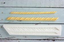 Silicone Mould, Decorative Rope  Borders, Nautical,Ellam Sugarcraft M186
