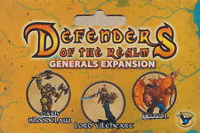 Defenders of the Realm: Alternate Generals (unpainted)