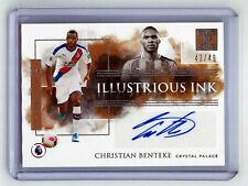 Christian Benteke 2019-20 Panini Impeccable Illustrious Ink Auto Silver /49