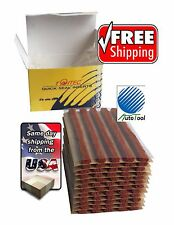Brown Seal Tire Plugs  60 SEALS  100% SELF VULCANIZING TUBELESS TIRE REPAIR PLUG