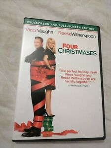 Four Christmases Widescreen And Full Screen Edition region 1 dvd