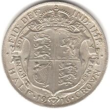 1916 George V Silver Half Crown | Pennies2Pounds