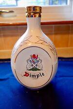 Scotch Whisky  Decanter Dimple white & gold stopper John Haig TSUKUBA EXPO 85