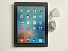 Apple iPad 3rd Gen 64GB, Wi-Fi, 9.7in - Black, Retina display.