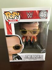 Super Funko Pop # 46 The Rock Wwe Legend Awesome Collectible Vinyl Figure