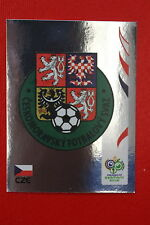 PANINI FIFA WORLD CUP GERMANY 2006 06 N. 360 CESKA REPUBLIKA BADGE MINT!!!
