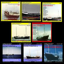 Pirate Radio Veronica Vols 1,2,3,4,5,6,7 & 8 (200hrs) 8 MP3 Discs FREE UK POST !
