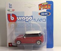 Bburago 30001 MINI COOPER S  METAL Scala 1:43