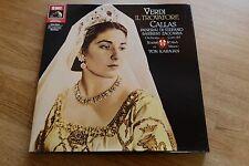 Verdi Il Trovatore MARIA CALLAS KARAJAN 2LP box EMI 7493471