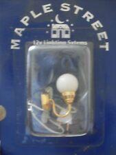 Dollshouse Miniature   ~ FROSTED GLOBE ~ 12v  Wall  Light