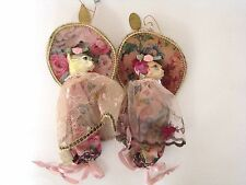 Katherine's Collection Set/2 Shabby Rose Cat Candy Bags