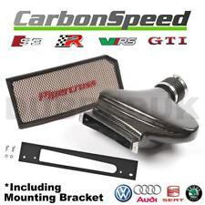 VW PASSAT 2.0 TFSI TURBO CARBON AIR BOX INDUCTION INTAKE KIT + PIPERCROSS FILTER