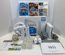 Nintendo Wii Console Bundle With Everything Pictured Tested And All Works